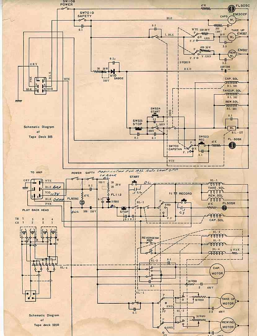 Concertone wiring diagram simple wiring diagrams wiring diagrams teac concertone 505 tapeheads tape audio and music forums light switch wiring diagram problem was cheapraybanclubmaster Image collections